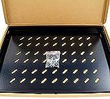 powergreen RAC-00060-PFI Bandeja Fija de 1U para Armario Rack de Pie con Fondo 60 Cm