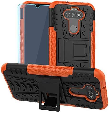 SKTGSLAMY for LG Aristo 5 Case with HD Screen Protector Phoenix 5X Tribute Monarch Fortune 3 product image