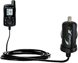 Gomadic Intelligent Compact Car / Auto DC Charger suitable for the SkyGolf SkyCaddie SG2-5 - 2A / 10W power at half the size. Uses Gomadic TipExchange Technology