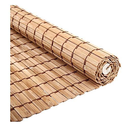 LXJYMX-Bambou Rideau Rideaux en Bambou, Rideaux, Stores à Enrouleur, Stores à Enrouleur IKEA, Rideaux occultants à cloison (Couleur : Blanc, Taille : 100x120)