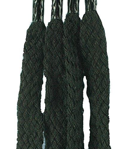 Concept4u Lacets plats pour chaussures/baskets/chaussures montantes/bottes Noir 140 cm