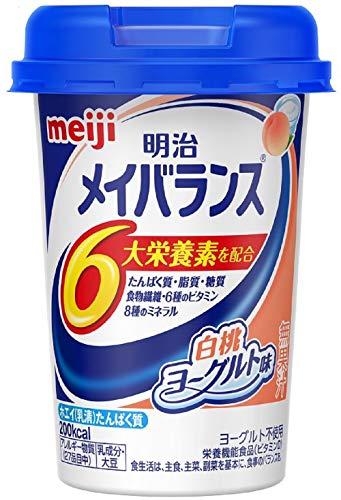 メイバランス Miniカップ 白桃ヨーグルト味 125ml×4本