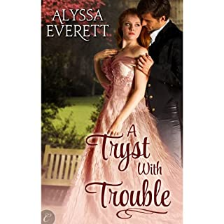 A Tryst with Trouble audiobook cover art