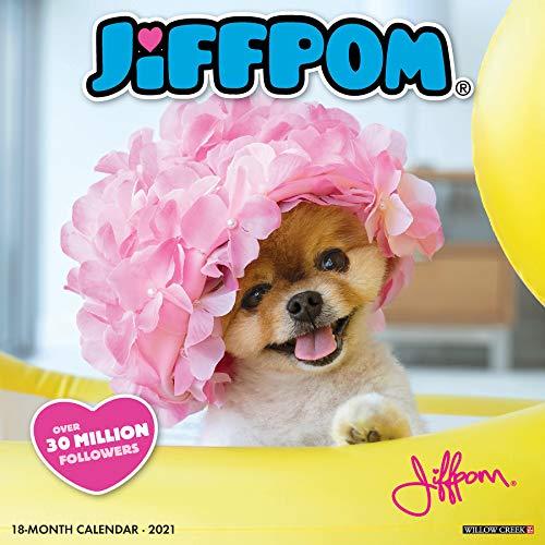 Jiffpom - Jiff the Pomeranian 2021 Calendar