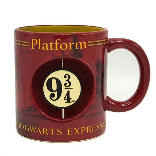 Silver Buffalo HP11953H Harry Potter Hogwarts Express Ceramic Mug