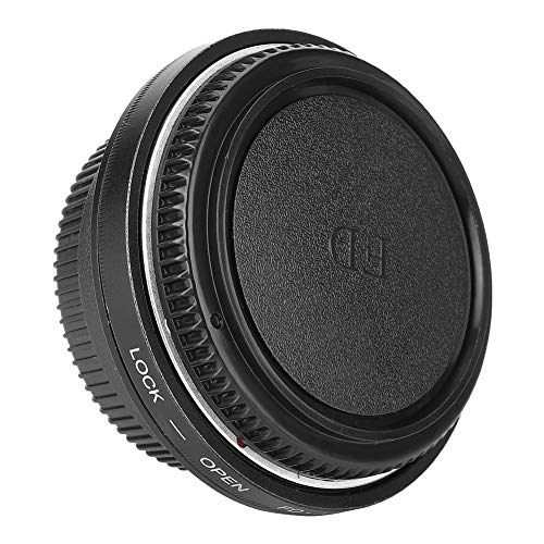 Deror Anillo Adaptador de cámara, Anillo Adaptador FD-AI para Lente Canon FD para Nikon AI Mount Camera Infinity Focus