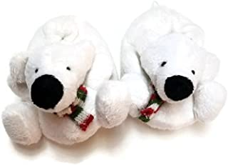 Baby Toddler Infant Newborn Plush Fleece Animal Polar Teddy Bear Slippers Booties Socks Shoes