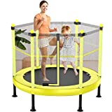 YONIISEA Sports Trampolin Kinder, Gartentrampolin Indoor Kindertrampolin Outdoor Trampolin Mit...