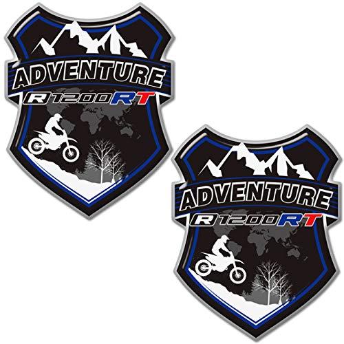 Qwjdsb para BMW R1200RT R1200 RT, Maletas traseras, Maleta, Maletero, Almohadilla Protectora, Protector de Rodilla, carenado, Guardabarros, calcomanías, calcomanías de Motocicleta