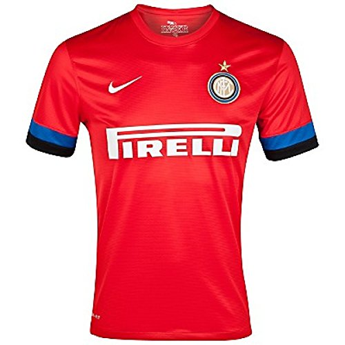 Nike Trikot Inter Milan Away Replay Jersey - Camiseta, Color Rojo/Azul/Negro, Talla...