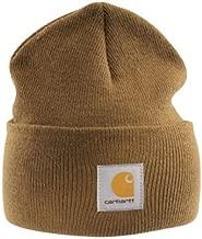 Carhartt - Acrylic Watch Cap - Light brown Branded Beanie Ski hat