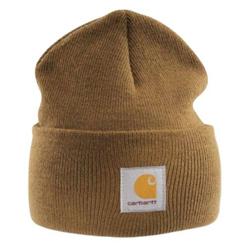 Carhartt Acrylic Watch Cap - Braun Strickmütze Hüte Beanie Mütze Kappe Männer CHA18BRN-Universal
