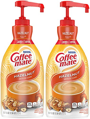 Hazelnut Nestle Coffee Mate Coffee Creamer