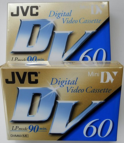 JVC Mini Digital Video Cassette, 2-P