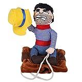 Questo è un costume molto divertente per animali domestici, che può rendere il vostro animale domestico simile a un cowboy, molto adorabile. Realizzato con materiali di alta qualità, robusto e durevole, può essere utilizzato per un periodo relativame...