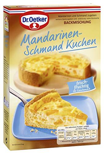 Dr. Oetker Mandarinen Schmand Kuchen, 4er Pack (4 x 460 g)
