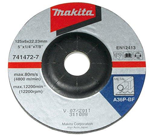 Makita A-80880-10 Schruppscheibe 180mm 10Stk, 180 mm