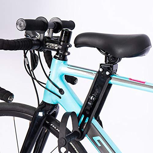 PAKASEPT Asiento Infantil para Bicicleta de montaña, Asiento de Bicicleta para niños, Manillar de Bicicleta Infantil Ajustable, Compatible con Todos los Adultos MTB – para niños de 2 a 5 años