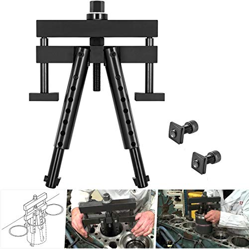 """Universal Cylinder Liner Puller Heavy Duty Diesel Engine Cylinder Liner Puller Fits for Mack Cummins CAT on Wet Liner from 3-7/8"""" to 6-1/4"""" Bore, Replace for OEM PT-6400-C M50010-B 3376015"""