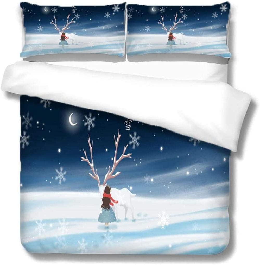 Bed Linings Super Soft Superfine Fiber Duvet High order Set Girl Cover Indianapolis Mall and