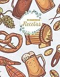 Mi cuaderno de recetas: Cuaderno de Recetas para mujeres y abuelas que les gusta cocinar