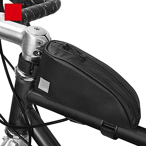 Bolsa para bicicleta Bolsa para bicicleta de montaña Bolsa para viga delantera Impermeable Portátil Bolsa frontal para automóvil Bolsa para tubo superior Bolsa para marco frontal Equipo para montar B