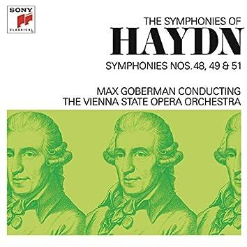 Haydn: Symphonies Nos. 48, 49 & 51