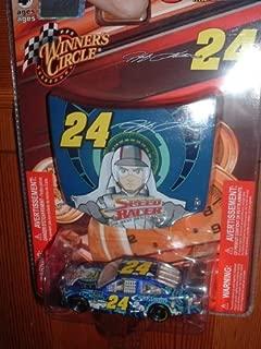 Jeff Gordon #24 Gordon Foundation Speed Racer Special Paint Scheme 1/64 Scale Impala SS & Bonus 1/24 Scale Matching Speed Racer Hood Winners Circle 2009