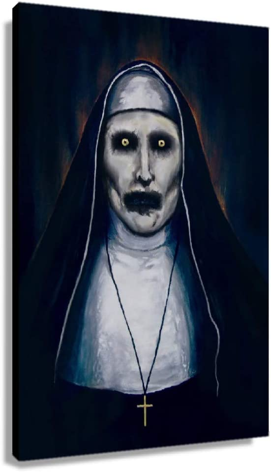 CHENZFJYFAN. Safety and trust The Nun OFFicial mail order Movie Poster Living Canvas Decor for Room B