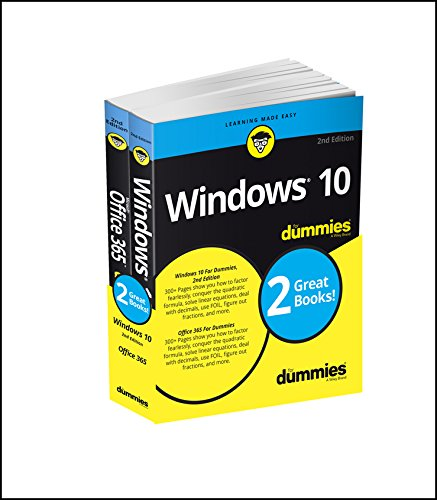 Windows 10 & Office 365 For Dummies, Book + Video Bundle (For Dummies (Computer/tech))