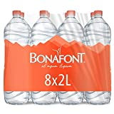 Bonafont, Agua Natural, 2 Litros, 8 Pack