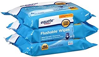 Best equate flushable wipes uses Reviews