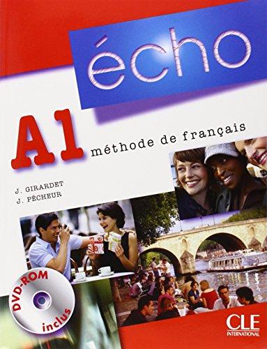 Écho A1: Livre de l'élève + Portfolio + DVD-Rom + CD-Audio