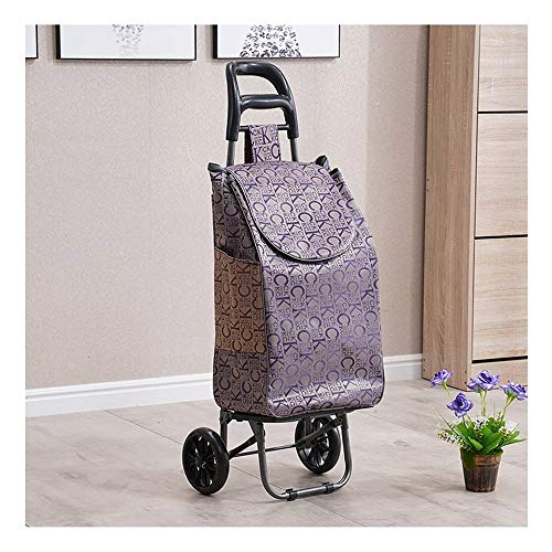 XWX Folding Hand Truck, Utility Cart Compact And Lightweight For Luggage Personal Travel Auto Moving And Office Use (Color : C)