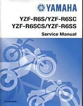 LIT-11616-R6-00 2003-2004 2006 Yamaha YZF-R6S SC T Service Manual