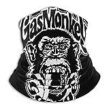 Gas M-Onkey Men's Women's Dust-Proof Mouth Cover Balaclavas Washable Reusable Face_Mask Magic Scarf Bandana