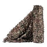 Feifei Red de Camuflaje, persianas de Red de Camuflaje Woodland Red de Camuflaje para sombrilla Cámping de Tiro Caza Decoración Militar Sombrilla (Color : B, Tamaño : 1.5x6m/4.9x19.7ft)