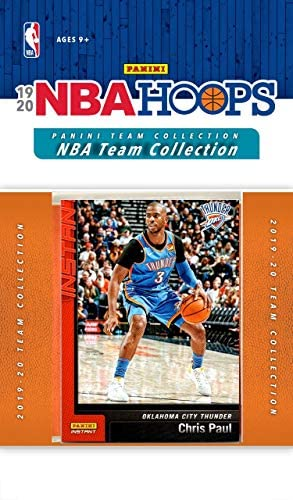 Oklahoma City Thunder 2019 2020 Hoops Basketball Factory Sealed 10 Card Team Set with Chris product image