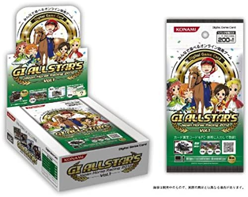 venta Digital Game Card GI ALLSTAR'S Japan Horse Racing 2012 Vol.1 Vol.1 Vol.1 (japan import)  punto de venta barato