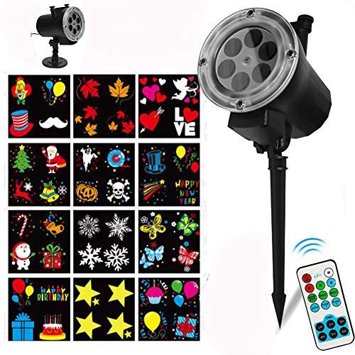 Weihnachts Projektor, LED Projektor...