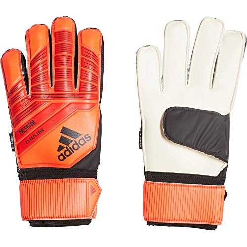 adidas Herren Predator Top Training Fingersave Torwarthandschuhe, Active Red/Black/Solar Red, 9