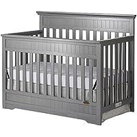 Slumber Baby Chesapeake 5-In-1 Convertible Crib (Storm Grey)