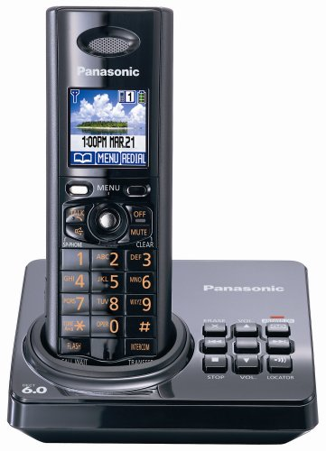 Panasonic KX-TG8231B DECT 6.0 Cordlesss phone System with an All Digital Answering System