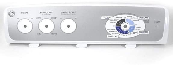 Ge WE19M1482 Dryer Control Panel Assembly Genuine Original Equipment Manufacturer (OEM) Part