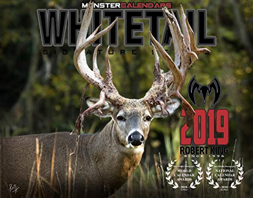 2019 Whitetail Deer Calendar of Giant Bucks by Monster Calendars/Robert King (1)