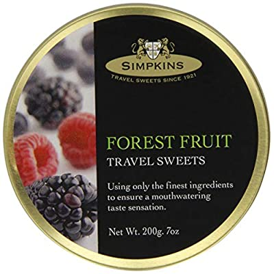 simpkins forest fruits travel sweets, pack of 6 (6 x 200 g) Simpkins Forest Fruits Travel Sweets, Pack of 6 (6 x 200 g) 51yqTVQ 7nL