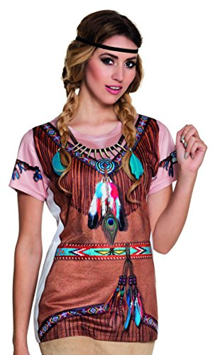 Fotorealistisches Shirt Indian Squaw