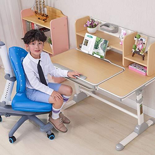 JINBAO Schreibtisch Lerntisch und Stuhl Set können Schreibtisch Studenten Schreibtisch Heben