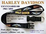 HARLEY DAVIDSON HD PORTA CHIAVI CHIAVETTA USB A TRACOLLA AL COLLO ID PASS