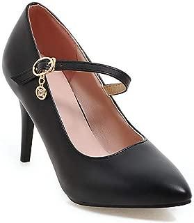 BalaMasa Womens APL12387 Pu Heeled Sandals